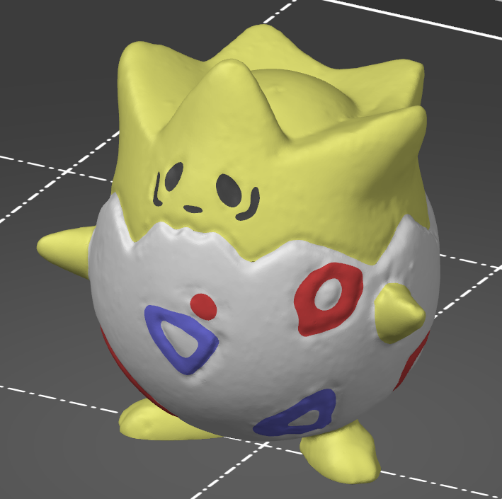Pokemon: Togepi - multicolor remix