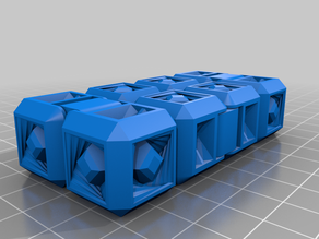 Yet another fidget infinity cube remix