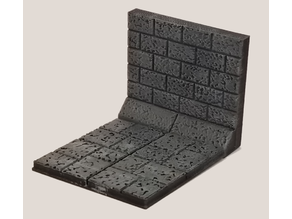 Basic Stone Floor and Wall 28mm