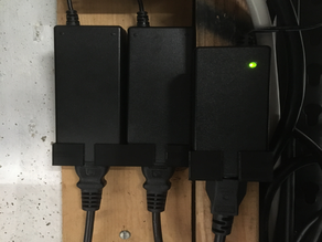 Ubiquiti Gateway and Switch Power Supply Holders