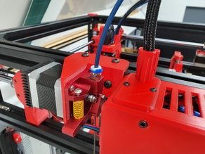 Hypercube Evo Side Mounted Extruder Bracket