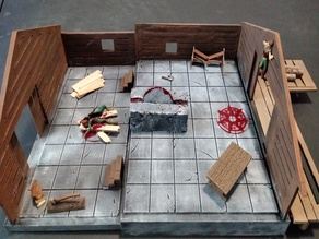 28mm Lumber Mill Room