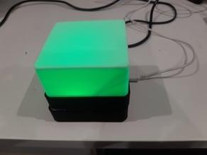 Wireless Powered Light Cube