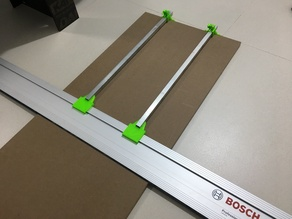 Bosch Mafell track saw FSN guide rail parallel guides