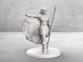 Elven Mage Tabletop Miniature