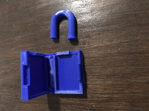 Hidden Compartment Padlock