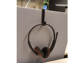 Two-sided headset hook