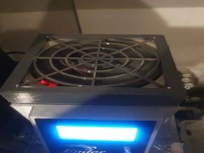Yet another Ender 3 control box, 140mm fan (SKR 1.3, Raspberry Pi 3 B+, Ender 3 stock LCD)