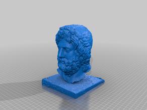 Bust Roman man