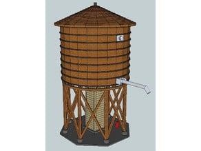 HO Scale Water Tank