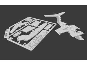 Ekranoplan Kit Card