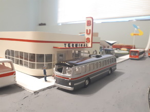 HO Scale - Trolley Bus 1951 CCF T-48A