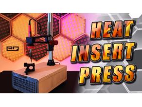 Heat Set Press For Brass Threaded Inserts