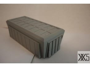 Star Wars Legion scale Large Cargo Container