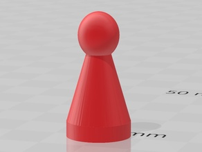 Pion pour jeu de société - Pawn for board game - Peón para juego de mesa