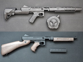 Convertion kit for thompson m1a1 by cyma