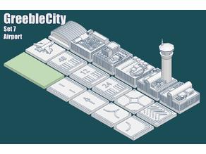 GreebleCity set07: Airport