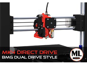 AI3M X-Carriage Direct Drive Upgrade-Kit (BMG-Style) [MK4]