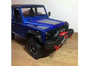 3Dsets modern fender with winch 3D printed