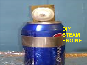 DIY turbine steam engine