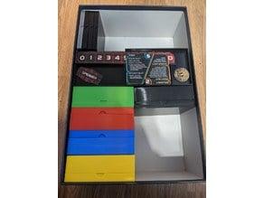 Twilight Imperium 4+PoK Storage (Includes Codex, Fleet Stands, Dice, Sleeved Cards)