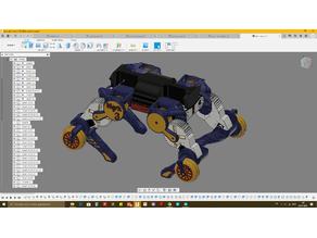 Mark 3 robot (4 leg)