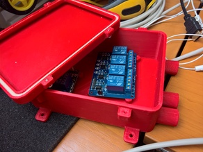 Waterproof enclosure for automation project