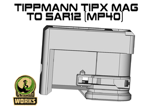 Tippmann TiPX MP40 model Mag to SAR12 Adapter