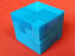 Interlocking Puzzle Cube #1