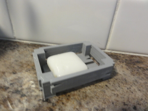 soap crate soap tray