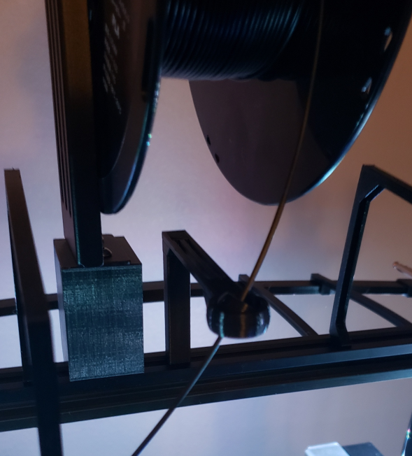 Extended Swivel Filament Guide for Direct Drive Ender 3 - No Screw Removal