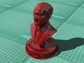 ATATÜRK BÜSTÜ (23.Nisan) - Bust of Mustafa Kemal Ataturk