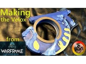 Velox from Warframe Deadlock Protocol