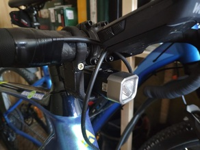 Headlight mount for bike (Fenix BC25R)