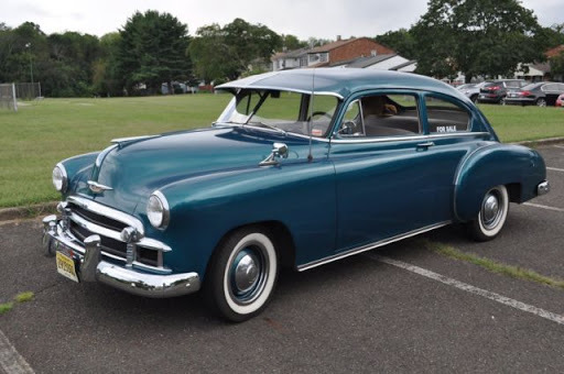 Chevrolet Deluxe Fleetline Sedan 1950