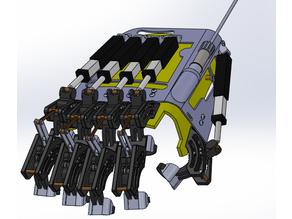 Finger exoskeleton