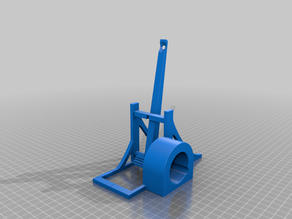 Solar Catapult (socket for a 12V DC motor with gearbox)