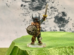 Warduke (32mm scale)