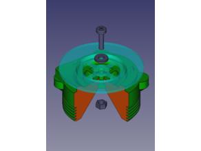 Адаптер-переходник EasyBreath для клапана выдоха противогаза ГП-7