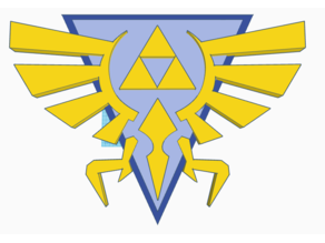 Zelda Triforce Logo HD