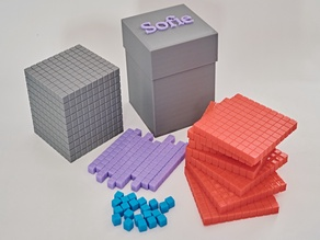 Dienes counting blocks [Full set with box]