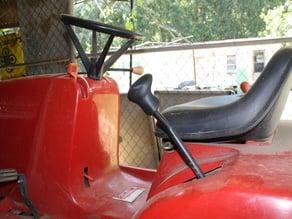 Lawnmower Deck Height Knob