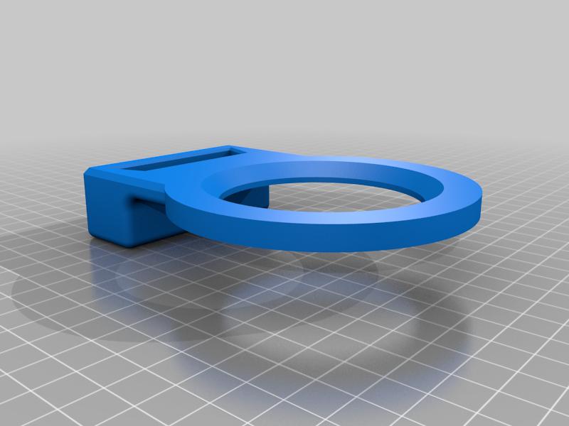Metallic funnnel support