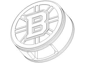 Bruins Walking Stick handle for hockey stick