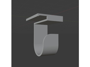 Autonomous Desk Leg Mounted Hook