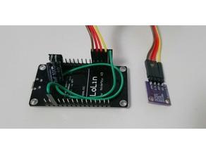 Sensor Housing for ESP8266 and Si7021