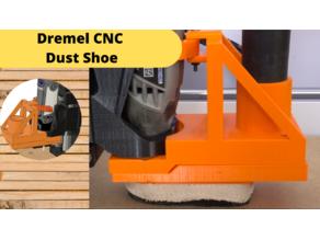 Dust shoe for Dremel CNC