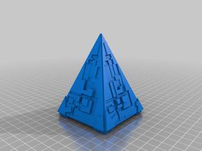 Star Trek Borg Pyramid Ship