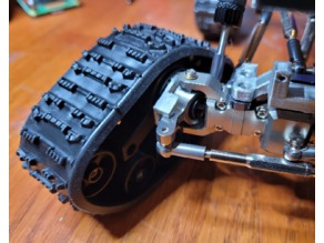 WPL track adapter for metal axles