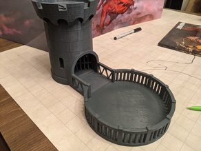Catch Arena for Castle Dice Tower